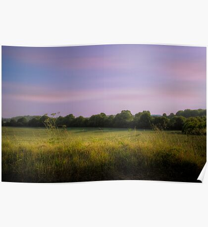 English Field - Oxfordshire, England Poster