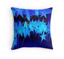 Providence WaterFire Stars Throw Pillow