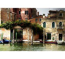 Venice, S.Pietro di Castello Photographic Print
