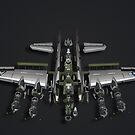 Warranty Void - Model Plane by Geoff Harrison