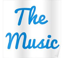 The Music - Blue Poster