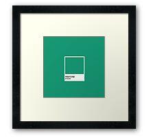 PANTONE Emerald Framed Print