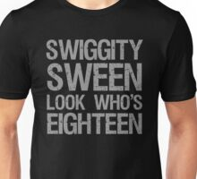 Swiggity 18th Birthday Unisex T-Shirt