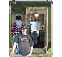"""A Privileged Peek into Bubba's Stress Management; An Interview""... prints and products iPad Case/Skin"