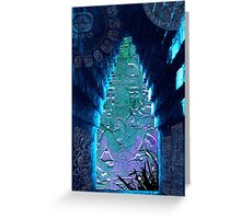Lord Pacal - Time Traveller Greeting Card