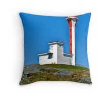 Cape Forchu Lightstation Throw Pillow
