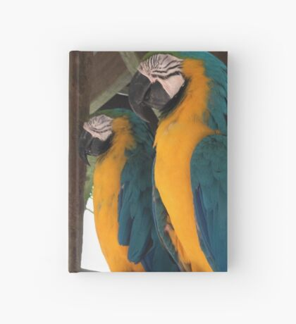 Two Birds on a Wire Hardcover Journal