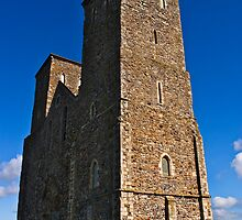 Reculver Towers 2 by Geoff Carpenter