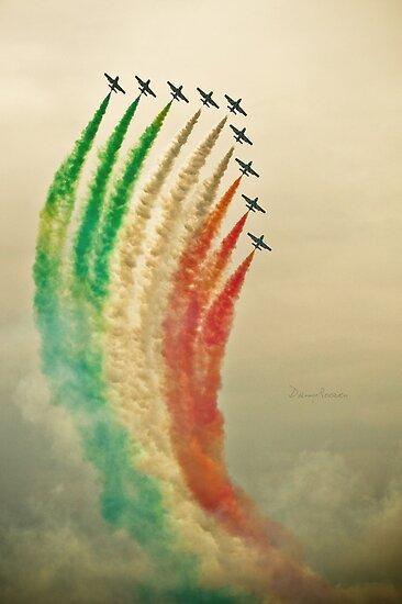 Frecce Tricolori  by Danny Roozen