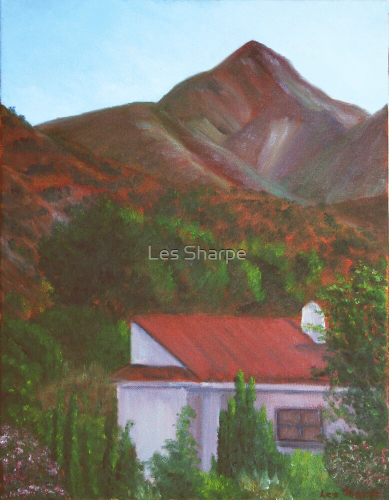 Outskirts of Nerja by Les Sharpe
