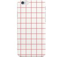 Grid- White iPhone Case/Skin