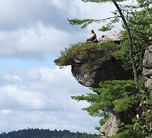 Living On The Edge! by Tracy Faught