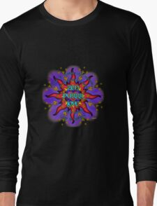INFINITE LOVE GALACTIC OMMM BLOSSOM Long Sleeve T-Shirt