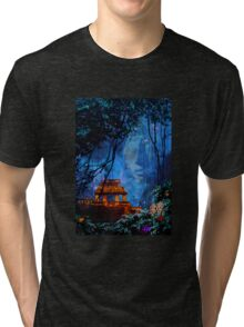 Temple of the Sun Tri-blend T-Shirt