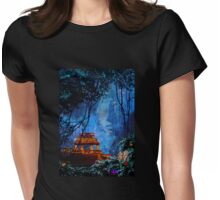 Temple of the Sun Womens Fitted T-Shirt