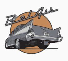 57 Chevy Bel Air by Steve Harvey