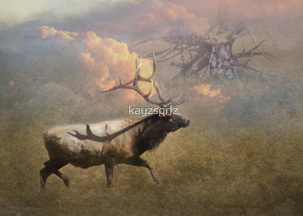 Elk Bugle by Kay Kempton Raade