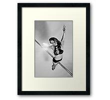 Pole Art - Superman Framed Print