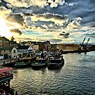 Portsmouth Harbor 2 by Edward Myers