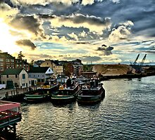 Portsmouth Harbor 2 by Edward Myers