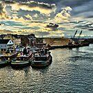 Portsmouth Harbor  by Edward Myers