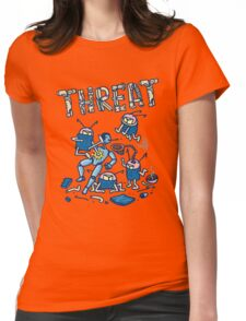Threat -battle of the robots- Womens Fitted T-Shirt