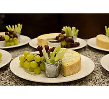 Stilton and Grapes Photographic Print