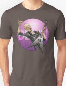 Devin Townsend Guitar Purple Circle T-Shirt