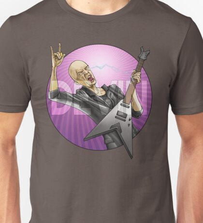Devin Townsend Guitar Purple Circle Unisex T-Shirt