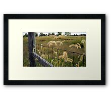 Country Charm Framed Print