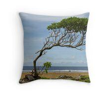 Lone Tree, Jaluit Atoll Throw Pillow