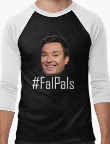 #FalPals White Men's Baseball ¾ T-Shirt