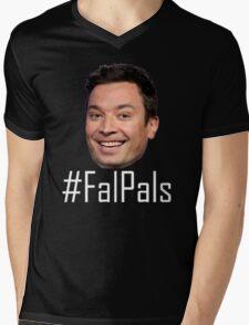 #FalPals White Mens V-Neck T-Shirt