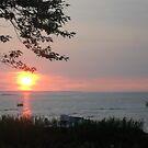 Collingwood sunset by IrisGelbart
