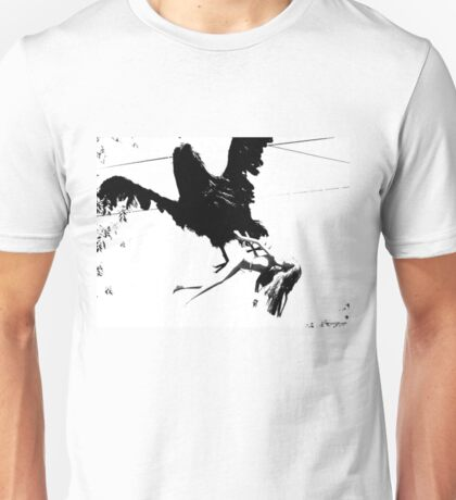 Giant Monsterbird Continues his Nefarious Journey Unisex T-Shirt