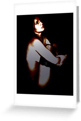 Portrait in Pearl Dark by Takingtheimage