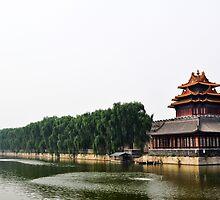 The Forbidden City Walls by marleguardia