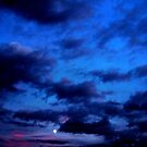 Moon Sunset by George Hunter