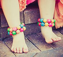 colorful, girly little feet by jenweisphotos
