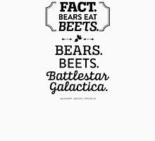 The Office Dunder Mifflin - Jim Halpert Bears. Beets. Battlestar Galactica. T-Shirt