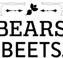 The Office Dunder Mifflin - Jim Halpert Bears. Beets. Battlestar Galactica. Sticker