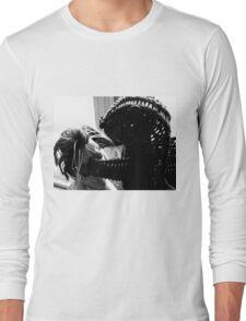 Wicker Squirrel in Love Long Sleeve T-Shirt