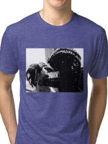 Wicker Squirrel in Love Tri-blend T-Shirt