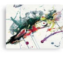Splatter Nude Canvas Print