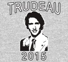 JUSTIN TRUDEAU FOR CANADA Kids Tee