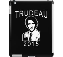 JUSTIN TRUDEAU FOR CANADA iPad Case/Skin