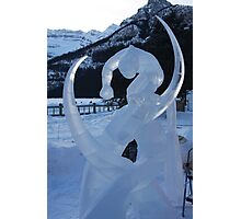 Ice Sculpture.   Photographic Print