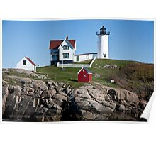 Cape Neddick, Nubble Light Poster