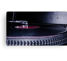 Spin That Record Canvas Print