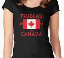 Trudeau for Canada 2015 Women's Fitted Scoop T-Shirt